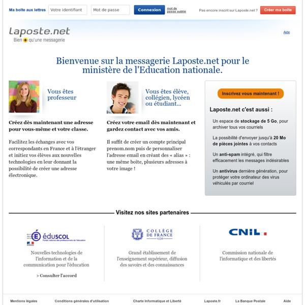 Laposte.net : éducation