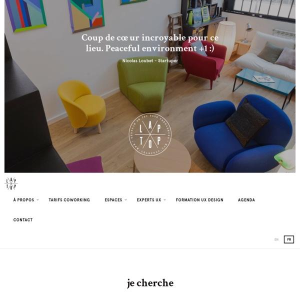 Laptop, espace de coworking à Paris pour tous les freelances et TPE
