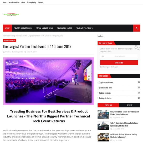 The Largest Partner Tech Event In 14th June 2019