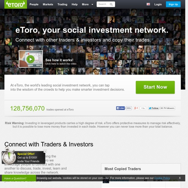 World's Largest Social Trading & Investment Network