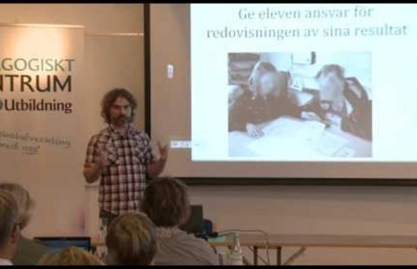 Christian Lundahl - Aktivera eleven som ägare av sin egen lärprocess. GR Utbildning