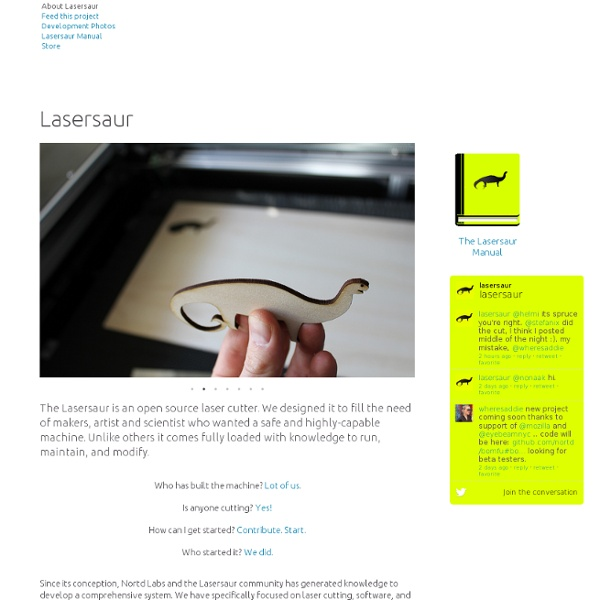 Lasersaur by Nortd Labs