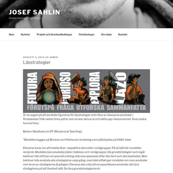 Lässtrategier – Josef Sahlin