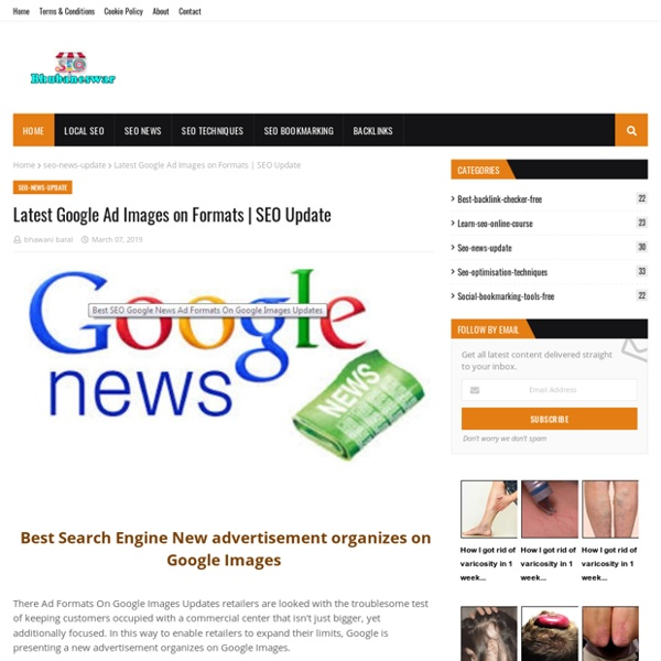 Latest Google Ad Images on Formats