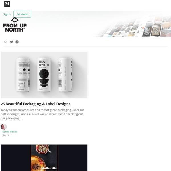 From up North - High quality design inspiration