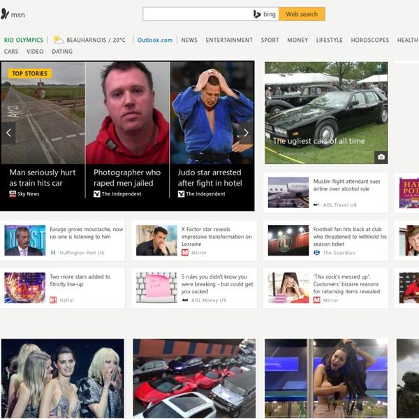 Hotmail, Messenger, Latest news, Sport, Music, Movies, Cars - MSN UK