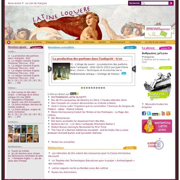Latine Loquere