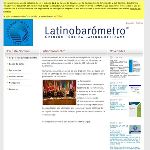 Latinobarómetro Database
