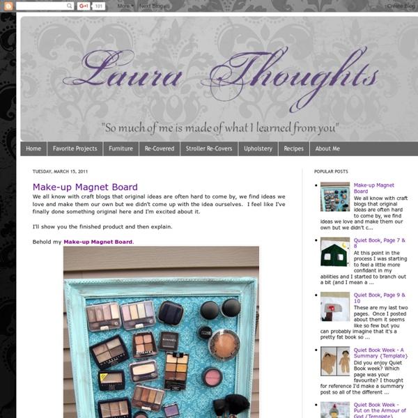 Make-up Magnet Board - StumbleUpon