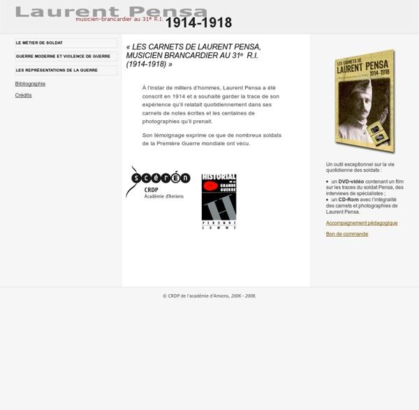 Témoignage- Laurent Pensa, brancardier