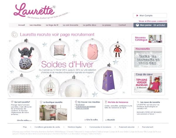 Laurette - meubles vintage et design pour chambre d'enfants...