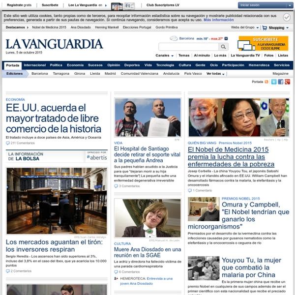 Noticias, actualidad y última hora en Catalunya, España y el mundo
