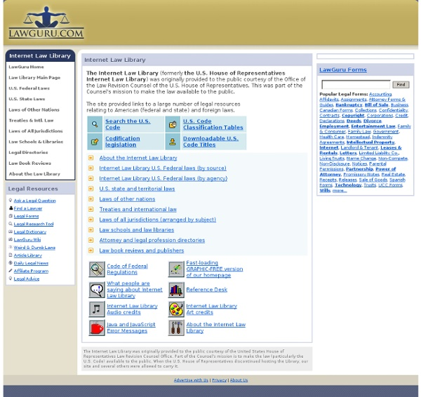 Internet Law Library