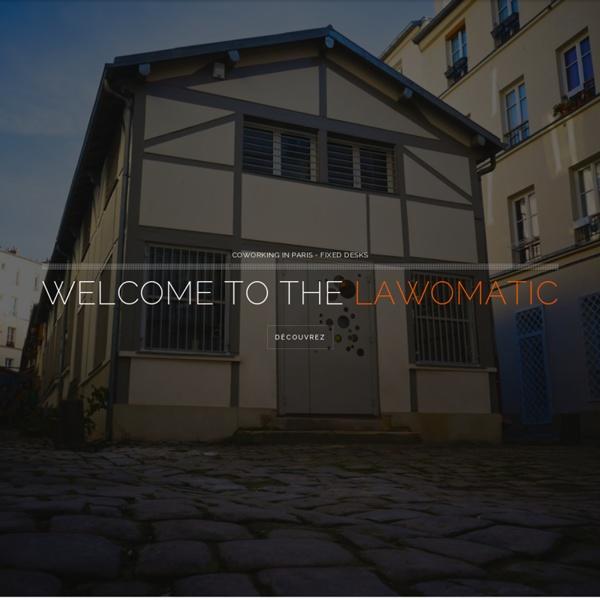 Co working in Paris – LAWOMATIC – Location ateliers-bureaux
