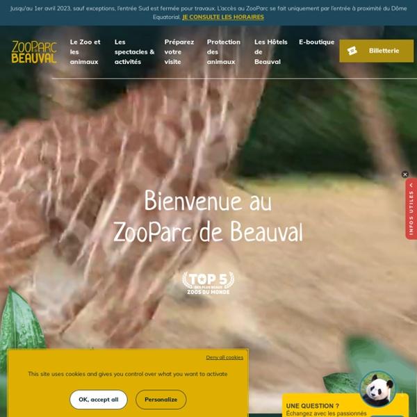 ZooParc de Beauval - Bienvenue sur le site web du ZooParc de Beauval
