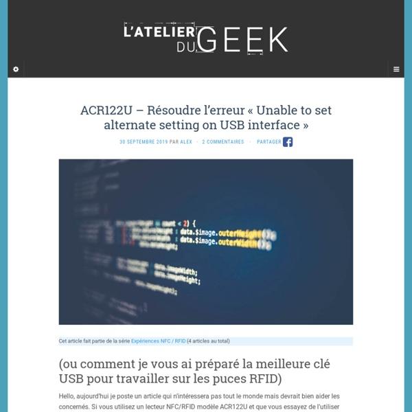 Le blog d'alex