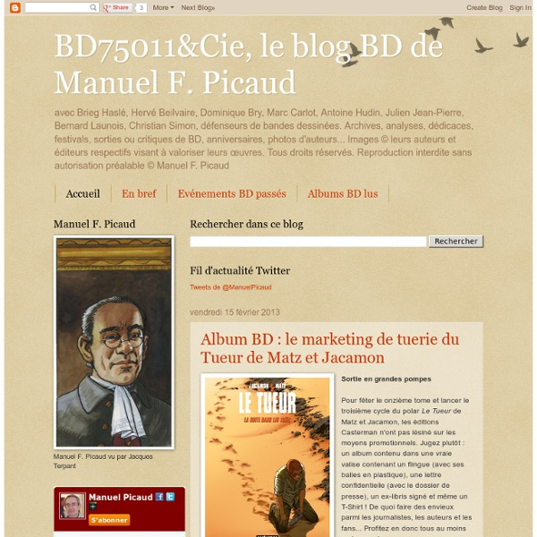 BD75011&Cie, le blog BD de Manuel F. Picaud