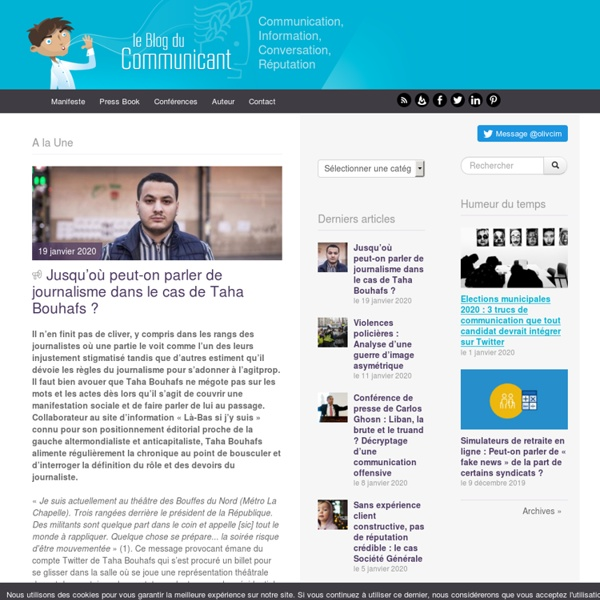 Le blog du communicant 2.0
