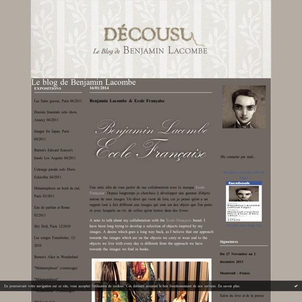 Le blog de Benjamin Lacombe