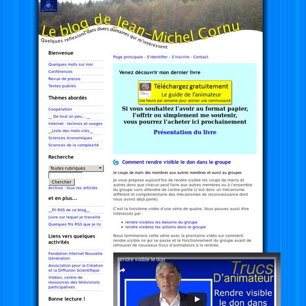 Le blog de Jean-Michel Cornu