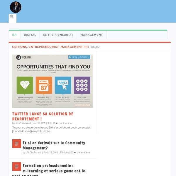 Le Blog de Jean-Noël Chaintreuil