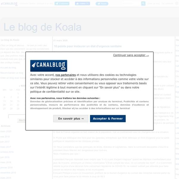 Le blog de Koala