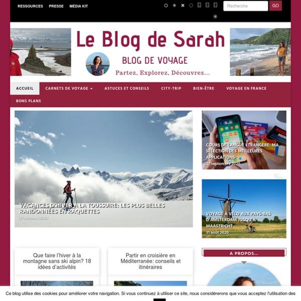 Blog de Voyage - Le Blog de Sarah
