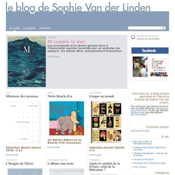 Le Blog de Sophie Van der Linden