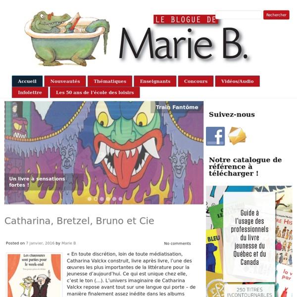 Le blogue de Marie B