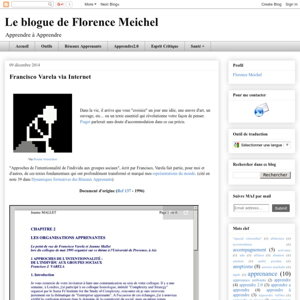 Florence Meichel BLOG