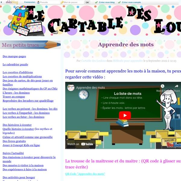 Le Cartable des Loulous -
