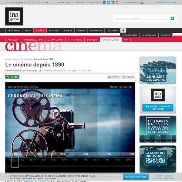 Le cinéma depuis 1890
