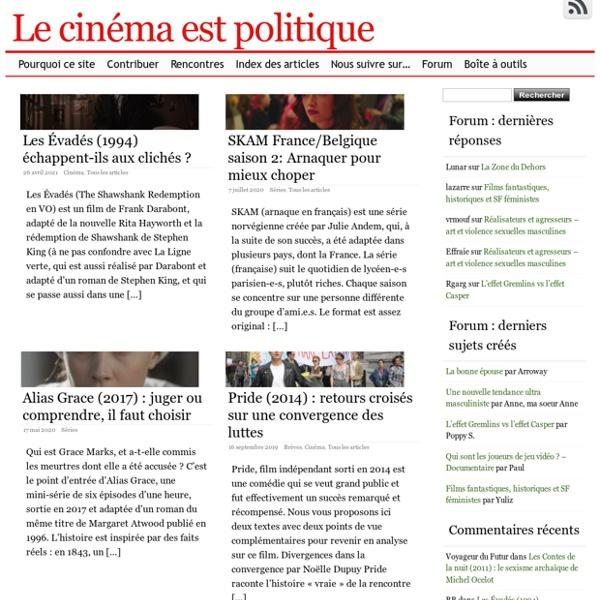 Le cinéma est politique -