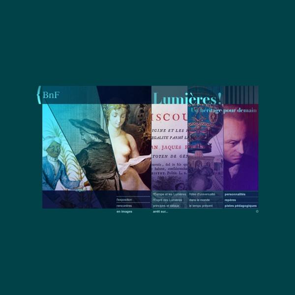 BNF - Le siècle des Lumières [expo virtuelle]