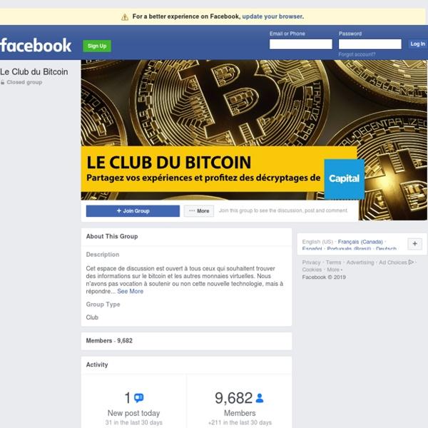 Le Club du Bitcoin Public Group