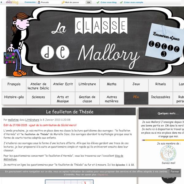 [Mallory] Le feuilleton de Thésée