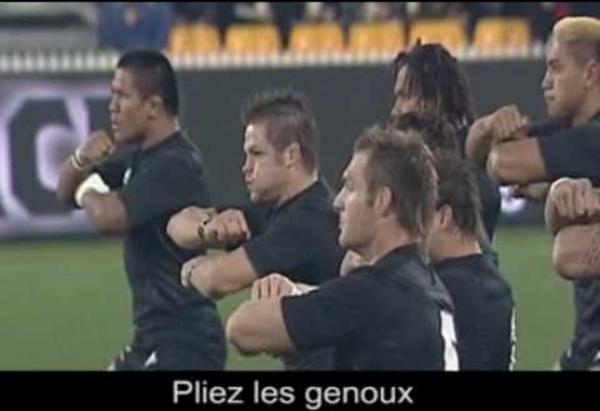 Le Haka des All Blacks