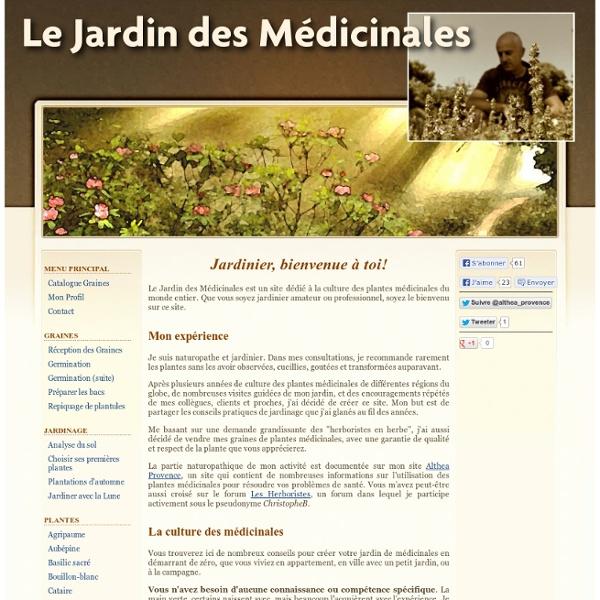 Le Jardin des Médicinales