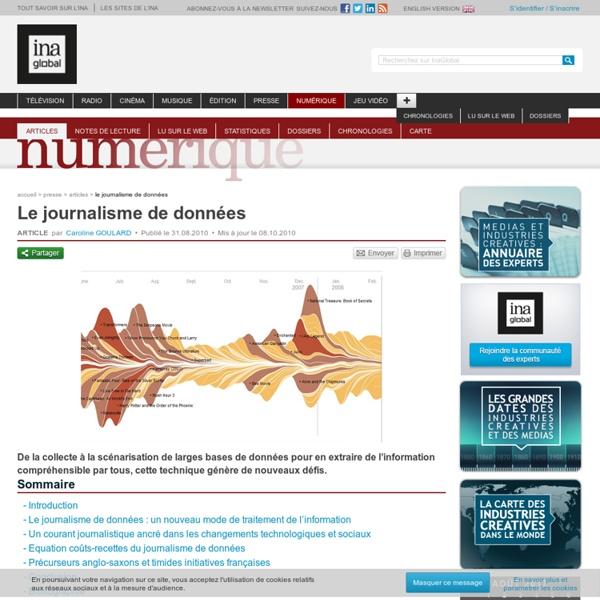 Le journalisme de données