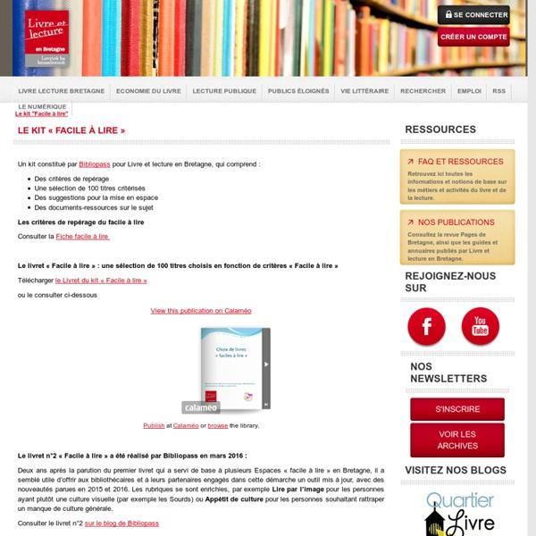 Le kit «Facile à lire»