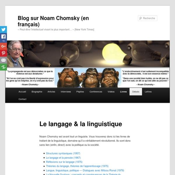 Le langage & la linguistique