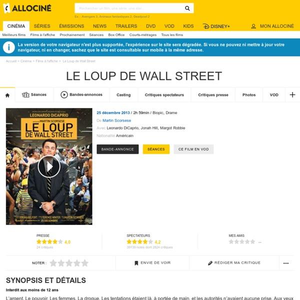 Le Loup de Wall Street - Martin Scorsese - 2013