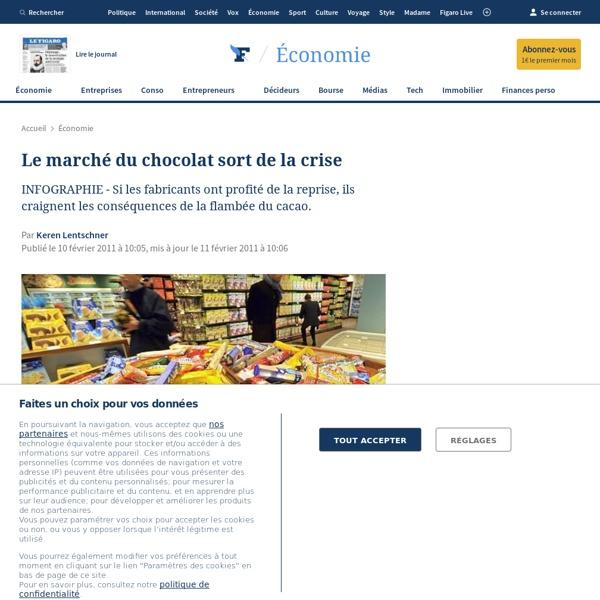 Le marché du chocolat sort de la crise