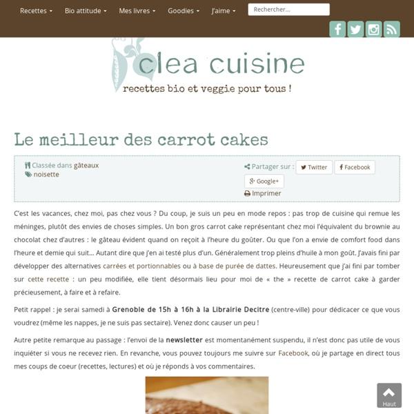 Le meilleur des carrot cakes