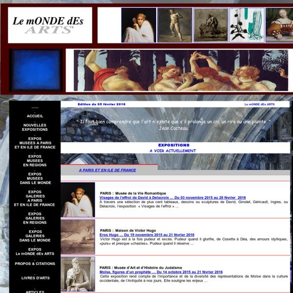 Le mONDE dEs ARTS