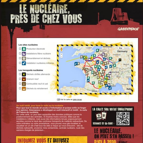 Le nucléaire près de chez vous