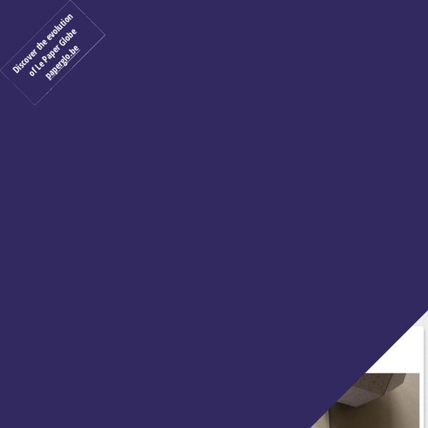 Le Paper Globe —un patron de globe terrestre en papier