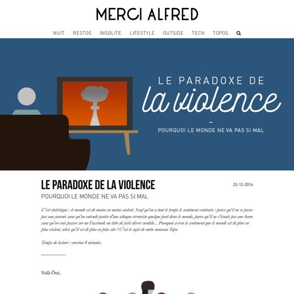 Le Paradoxe de la violence