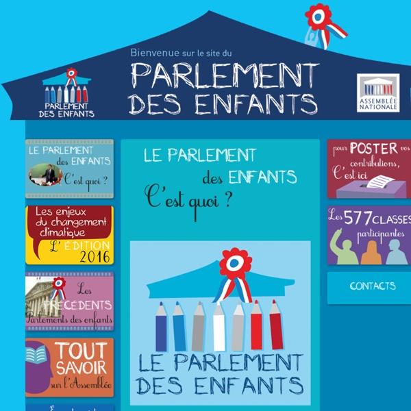 Le parlement des enfants, c'est quoi ? / Parlement des enfants