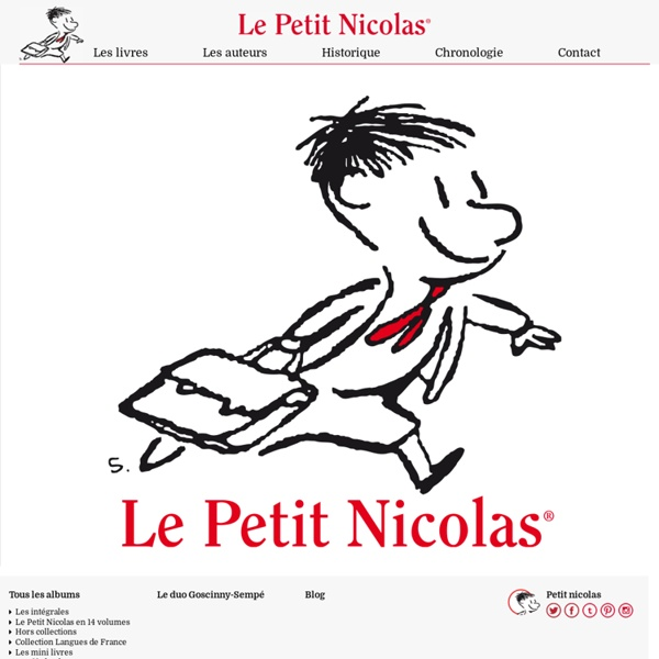 Le petit Nicolas - LE SITE OFFICIEL